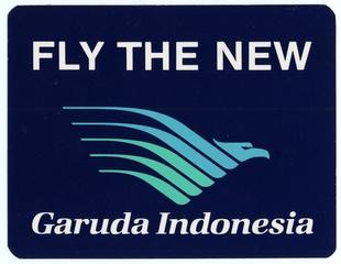 luggage label: Garuda Indonesia