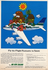 advertisement: Air New Zealand, Tahiti