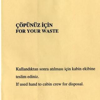 flight information packet: Turkish Airlines