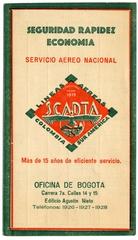 timetable: SCADTA (Sociedad Colombo-Alemana de Transpoertes Aereos)
