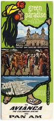 tourist information: Avianca Airlines, Pan American World Airways, Green Paradise