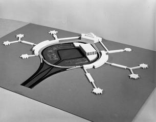 negative: San Francisco International Airport (SFO), architectural model