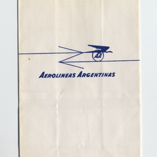airsickness bag: Aerolineas Argentinas