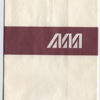airsickness bag: Alitalia