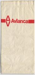 airsickness bag: Avianca Airlines
