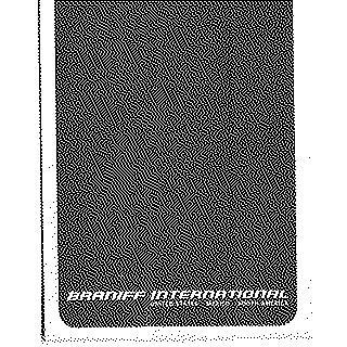 airsickness bag: Braniff International
