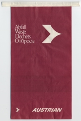 airsickness bag: Austrian Airlines
