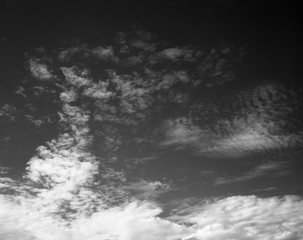 negative: San Francisco Bay Area, view of clouds