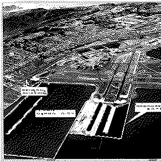 negative: San Francisco International Airport (SFO), aerial with annotations