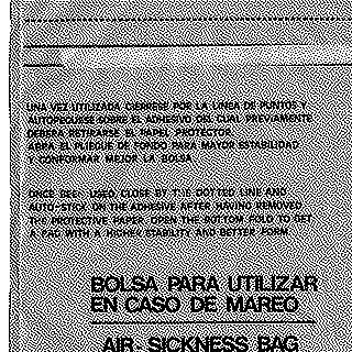 airsickness bag: Iberia
