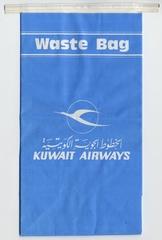 airsickness bag: Kuwait Airways