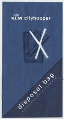 airsickness bag: KLM (Royal Dutch Airlines)