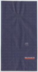 airsickness bag: Deutsche BA