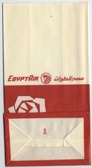 airsickness bag: EgyptAir