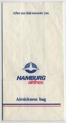 airsickness bag: Hamburg Airlines
