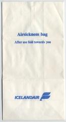 airsickness bag: IcelandAir