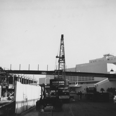 photograph: San Francisco International Airport (SFO), parking garage construction