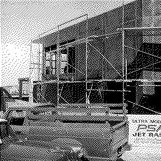 photograph: San Francisco International Airport (SFO), construction of Pacific Southwest Airlines (PSA) pier and jetway