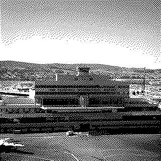 negative: San Francisco International Airport (SFO), aerial, Central Terminal