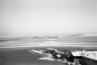 negative: San Francisco International Airport (SFO), pier construction