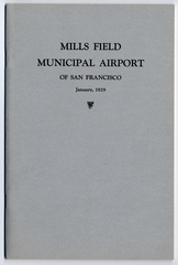 report: Mills Field Municipal Airport of San Francisco, Buckley & Curtin