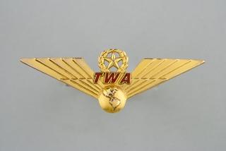 flight officer wings: TWA (Trans World Airlines)