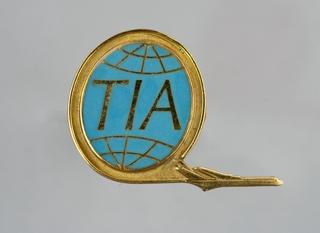 stewardess wings: TIA (Trans International Airlines)
