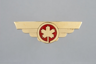 flight attendant wings: Air Canada