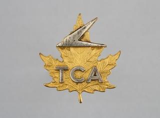 stewardess hat badge: Trans-Canada Air Lines (TCA)