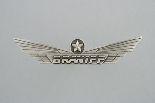 flight officer wings: Braniff Inc.