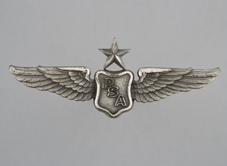 flight officer wings: Pacific Southwest Airlines (PSA)
