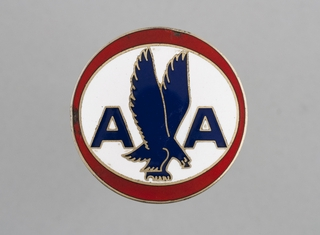 ground crew hat badge: American Airlines
