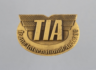 ground crew wing: TIA (Trans International Airlines)