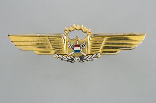 flight officer wings: United Airlines, 30-34 years service