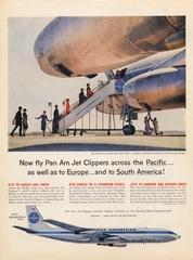 advertisement: Pan American World Airways