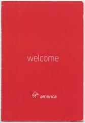 flight information card: Virgin America