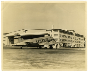 photograph: Pan American Airways, Douglas DC-3, Captain Roger Sherron, Jr.