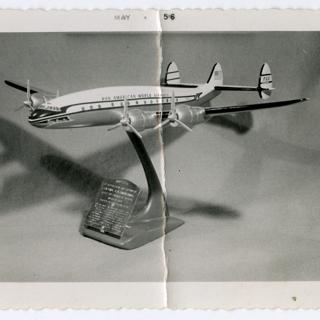 photograph: Pan American World Airways, Lockheed L-049 Constellation