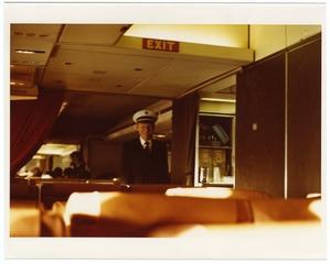 photograph: Pan American World Airways, Boeing 747-121, Captain Roger Sherron, Jr.