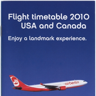 timetable: AirBerlin
