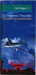 timetable: Aer Lingus, Summer