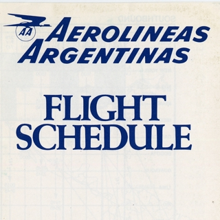 timetable: Aerolineas Argentinas