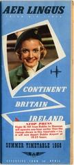 timetable: Aer Lingus