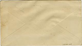airmail flight cover: First airmail flight, AM-20, Newark Metropolitan Airport, New Jersey