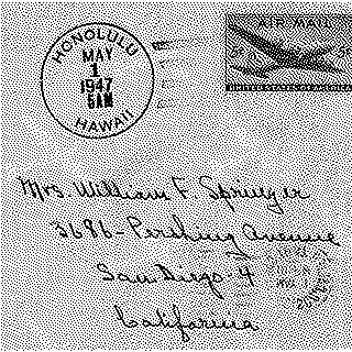 airmail flight cover: FAM-30, United Air Lines, Mainliner 300