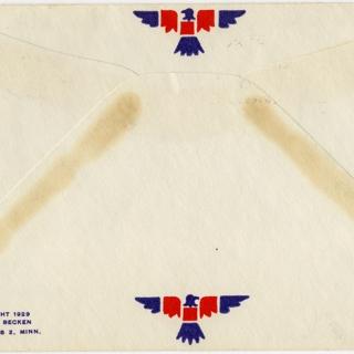 airmail flight cover: McDonnell Douglas DC-10