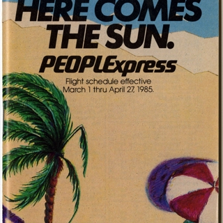 timetable: PEOPLExpress (People Express Airlines)