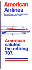 timetable: American Airlines