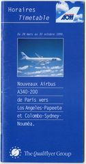 timetable: AOM French Airlines