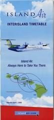 timetable: Island Air